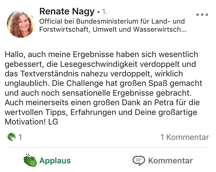Testimonial Renate Nagy